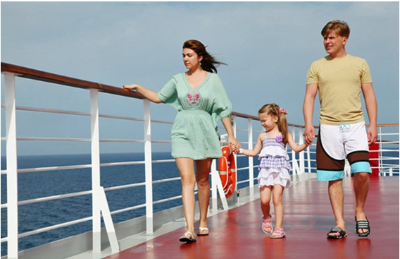 cruise vacation with family